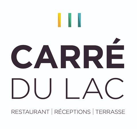 Carre du Lac: Logo white