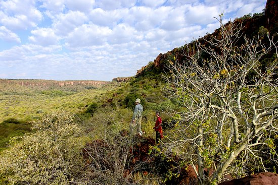 Waterberg Plateau Park, Namíbia: Viewpoint on one of the five nature trails at the private nature reserve Waterberg Wilderness