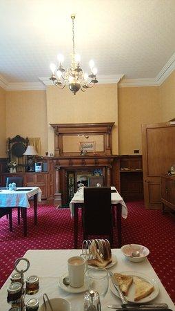 Thornton Rust, UK: Breakfast table