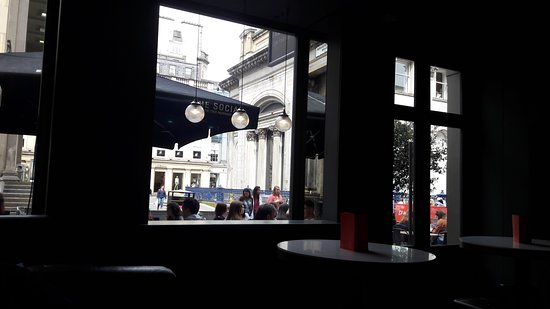 The Social Glasgow: terraza