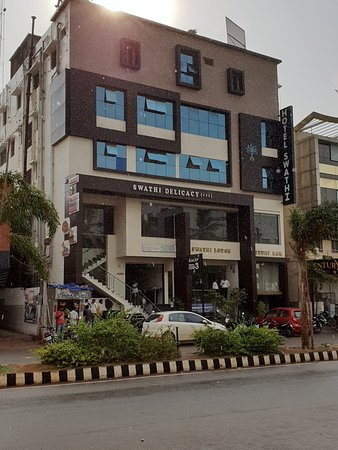 Swathi Delicacy : The Building