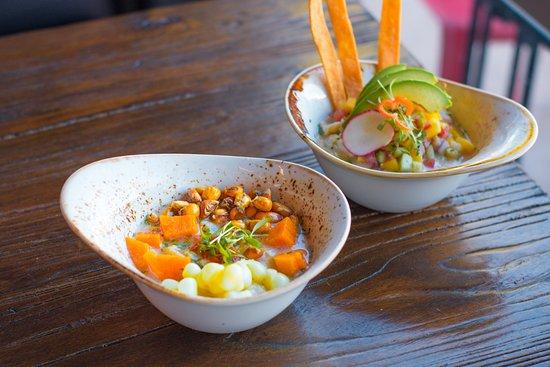 Kocina Il Forno : Ceviche Peruano and Ceviche Limeno - Fresh fish with authentic Peruvian flavor