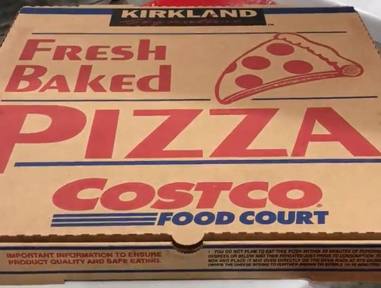 Costco: Best Pizza Deal in Town
