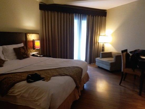 The Singhasari Resort: Our deluxe room on 2nd floor