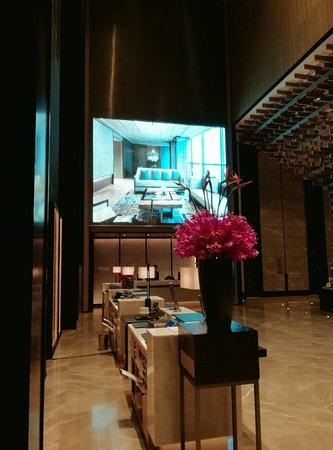 Chengdu Marriott Hotel Financial Centre: Lobby check-in area