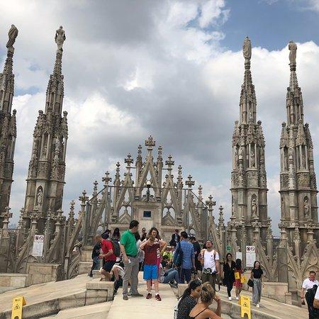 Duomo Rooftops ภาพถ่าย