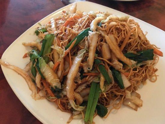 Confucius Chinese Cuisine: Vegetable Egg Noodles