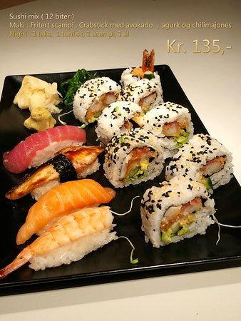 Fagernes, Norway: Sushi mix