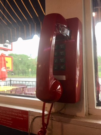 Wright's Dairy Rite : Order from the RED phone