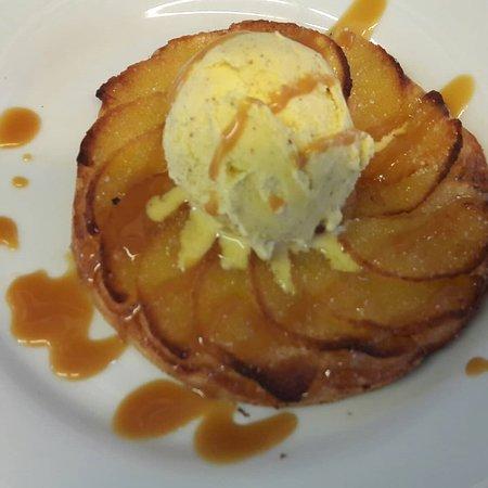 Restaurant la Pointe: Hamburger Maison et ses Potatoes