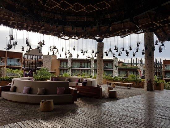Hotel Xcaret Mexico: Increible el Lobby