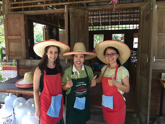 Thai Farm Cooking School: Thanks Fah for the awesome class!