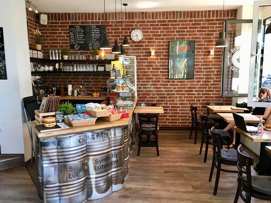 Cafe Blattgold : Tresenbereich