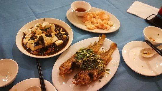 WoJia Restaurant: Our dinner