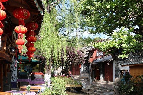 中国丽江古城照片