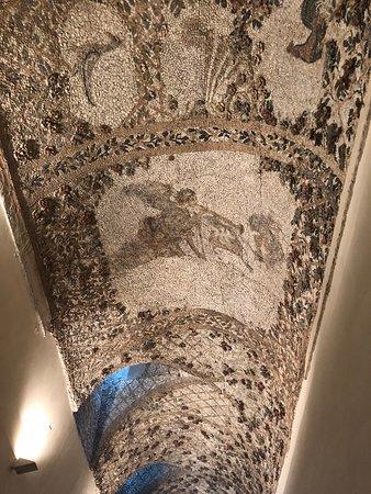 Villa d'Este: Mosaics on the ceilings