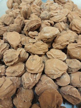 Buffet de la Gare de Glion : Les truffes au chocolat