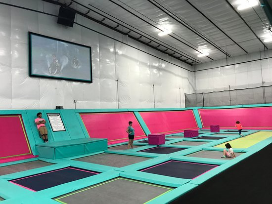 Shell We Bounce Trampoline Park : Shell We Bounce Trampoline Area