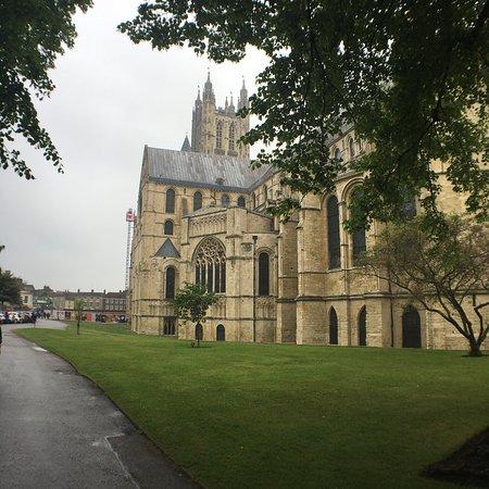 坎特伯雷大教堂照片