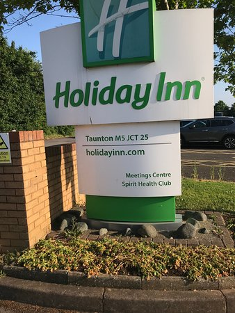 Holiday Inn Taunton M5, Jct. 25: welcome to hotel