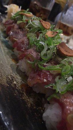 Ma yucca ~Restaurant Franco-Japonais~: Sushis à l'entrecôte