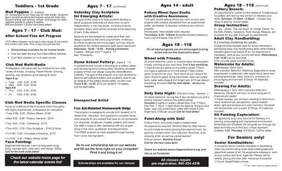 New Milford, كونيكتيكت: Village Center for the Arts - Walk in Welcome! 