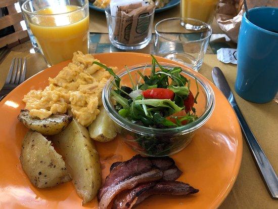 Madama Hostel & Bistrot: brunch