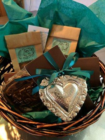 Kakawa Chocolate House: Custom gift baskets available