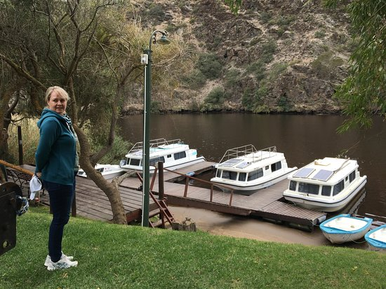 Malagas, South Africa: At the Breede River- hotel grounds