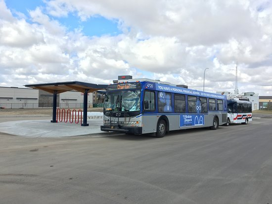 Fort Saskatchewan Transit: new park and ride facility