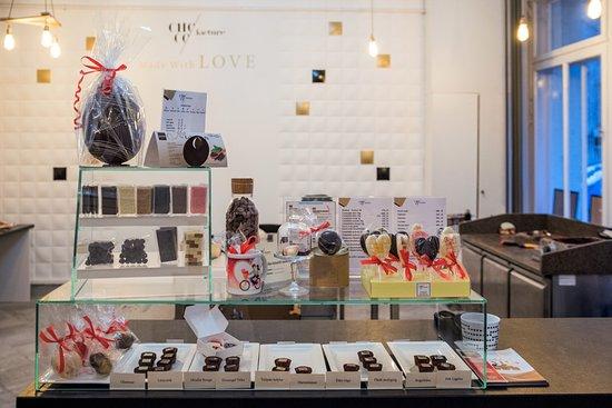 Chocofacture: Csokoládé bolt és látványműhely