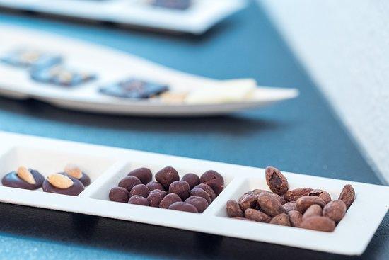 Chocofacture: Rendezvényen (mandian, drazsé, kakaóbab