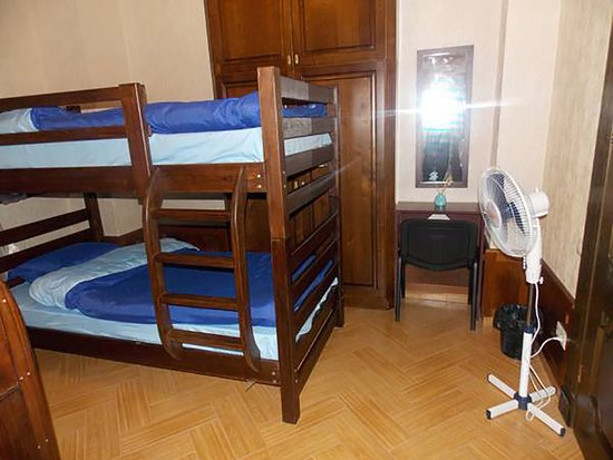 Cleopatra Palace Hostel: Four Bed Dorm Room