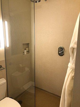 Chambers Hotel: Corner King Shower