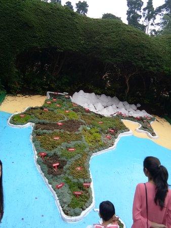 Botanical Gardens: Map of india