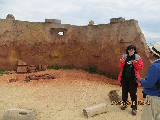 Yacimientos de la Sierra de Atapuerca: Pinturas