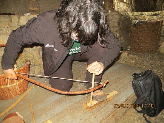 Yacimientos de la Sierra de Atapuerca: Haciendo fuego