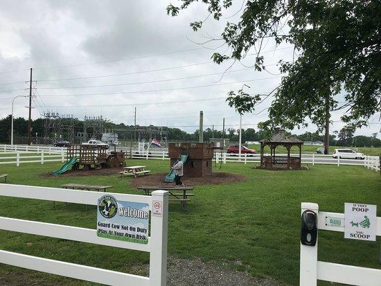 Hopkins Farm Creamery Play Area Entrance