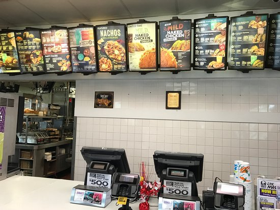 Menu at Rehoboth Taco Bell: Where is the Cashier?