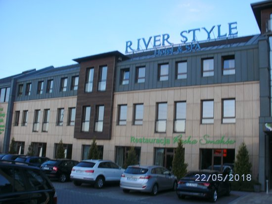 River Style Hotel & SPA: Frontansicht