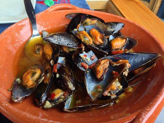 Faial Island, Portugal: clams