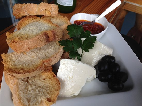 Faial Island, Portugal: cheese and olives