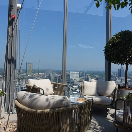 Amazing terrace - great for a sunny day or summers eve!!