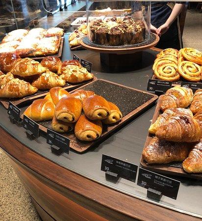 Starbucks Reserve Roastery Shanghai: more bakery treats downstairs-pricey!