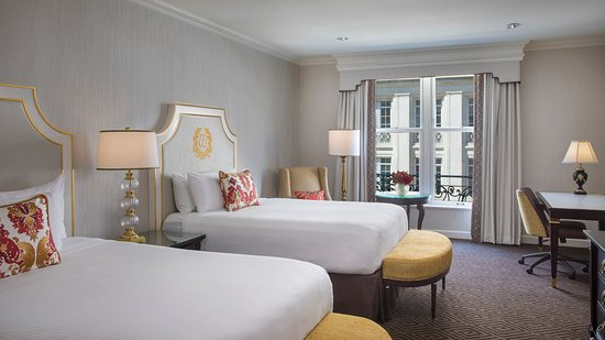 Willard InterContinental Washington: Executive Suite with Two Queen Beds