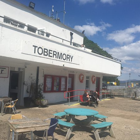 Pier Cafe Tobermory Photo