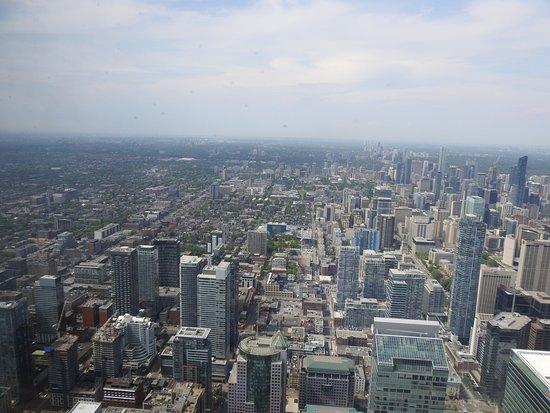 ซีเอ็นทาวเวอร์: View from CN tower