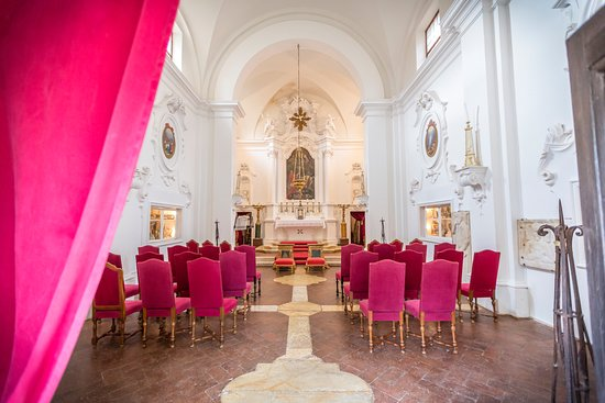 Pievescola, Italy: l'eglise