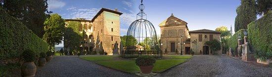 Pievescola, Ý: le lieu