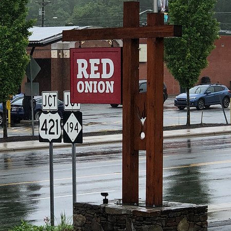 The Red Onion Cafe Foto